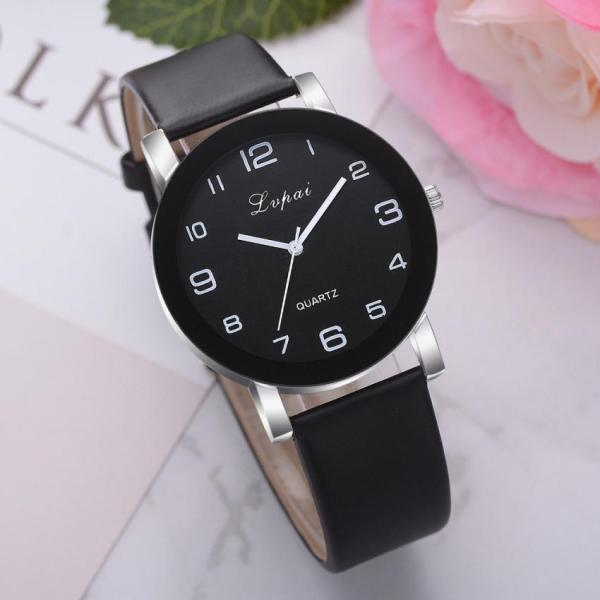 Woman's Watch Luxury Ladies Quartz