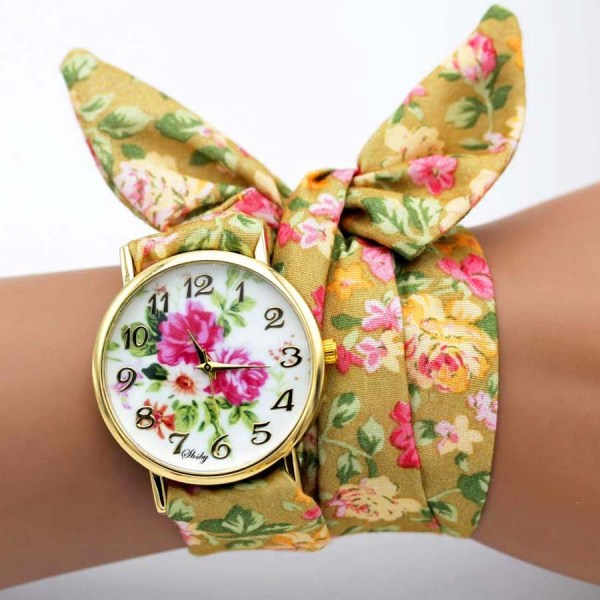 Women Dress Watch Fabric Watches