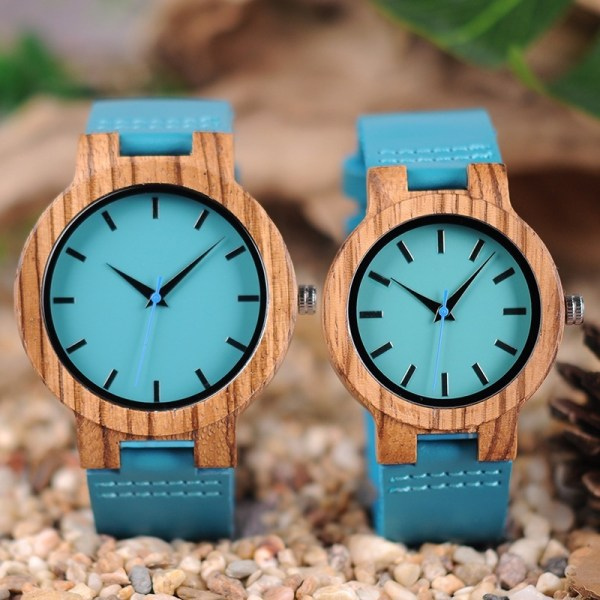 Wooden Couple Watches Ladies Watch