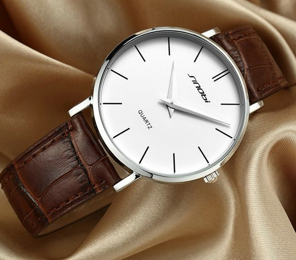 JAPAN Leather Analog Quartz Watch