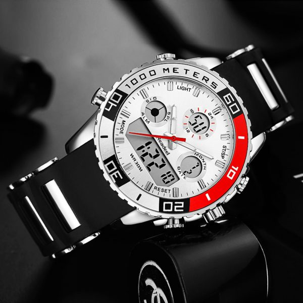 Luxury Watches LED Digital Quartz Watch