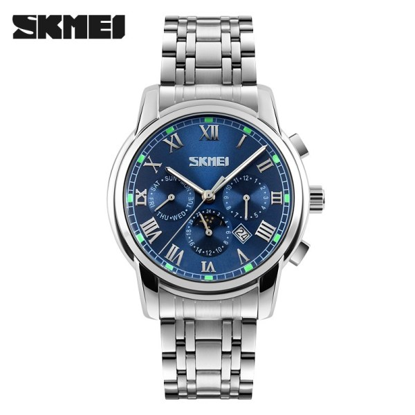 Men Quartz Watches Full Stainless Steel Watch