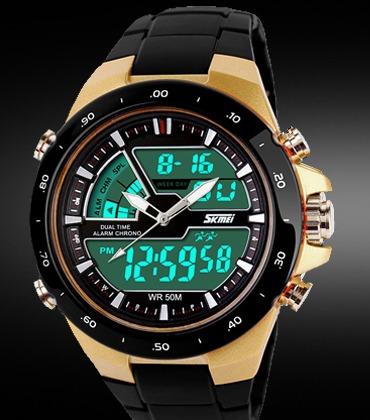 Men Sports Watches Fashion Casual Quartz-Watch