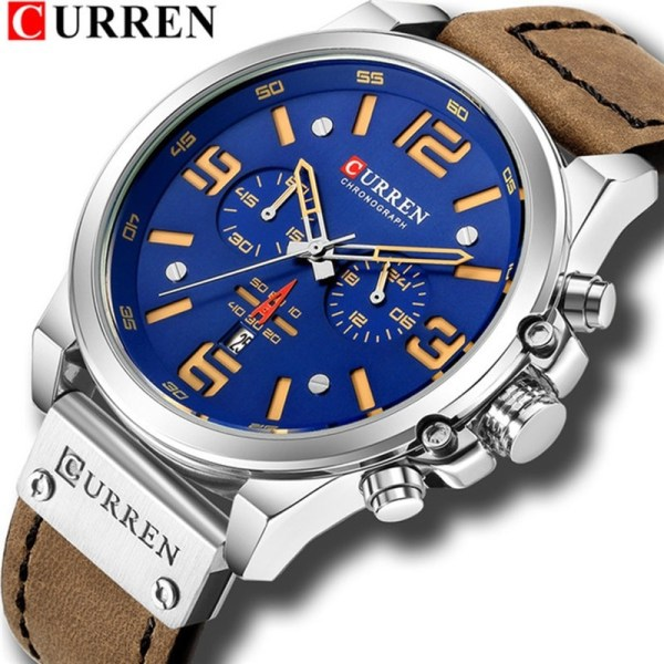 Military Leather Sport Quartz Watches