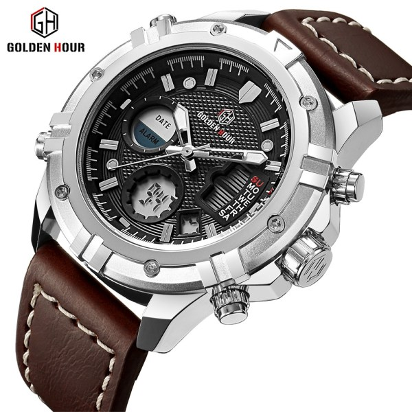 Military Sports Watches Leather Wrist Watch