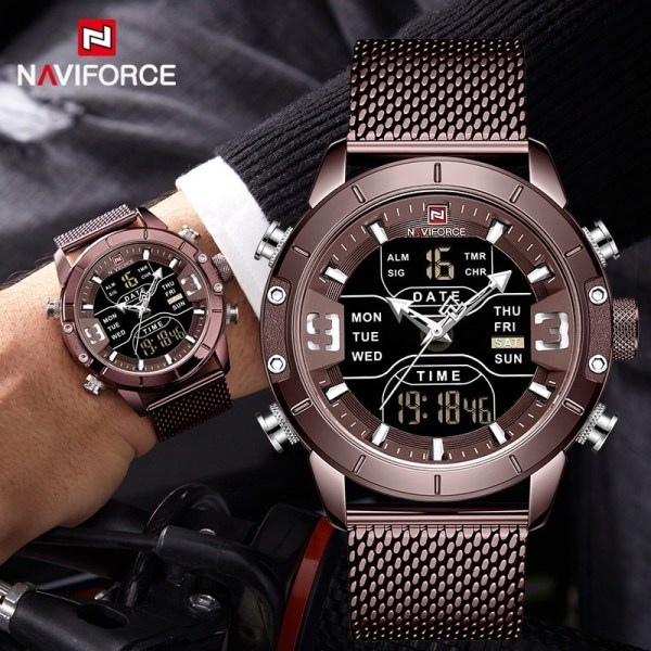 Stainless Steel Sports Men Watch