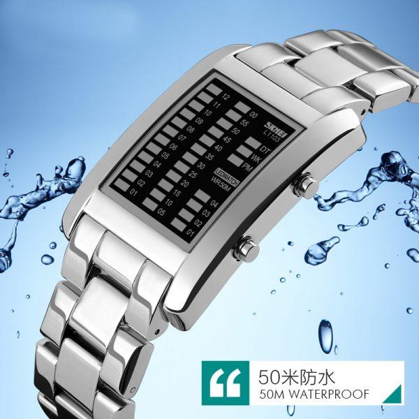 Waterproof Creative Watches Digital LED display