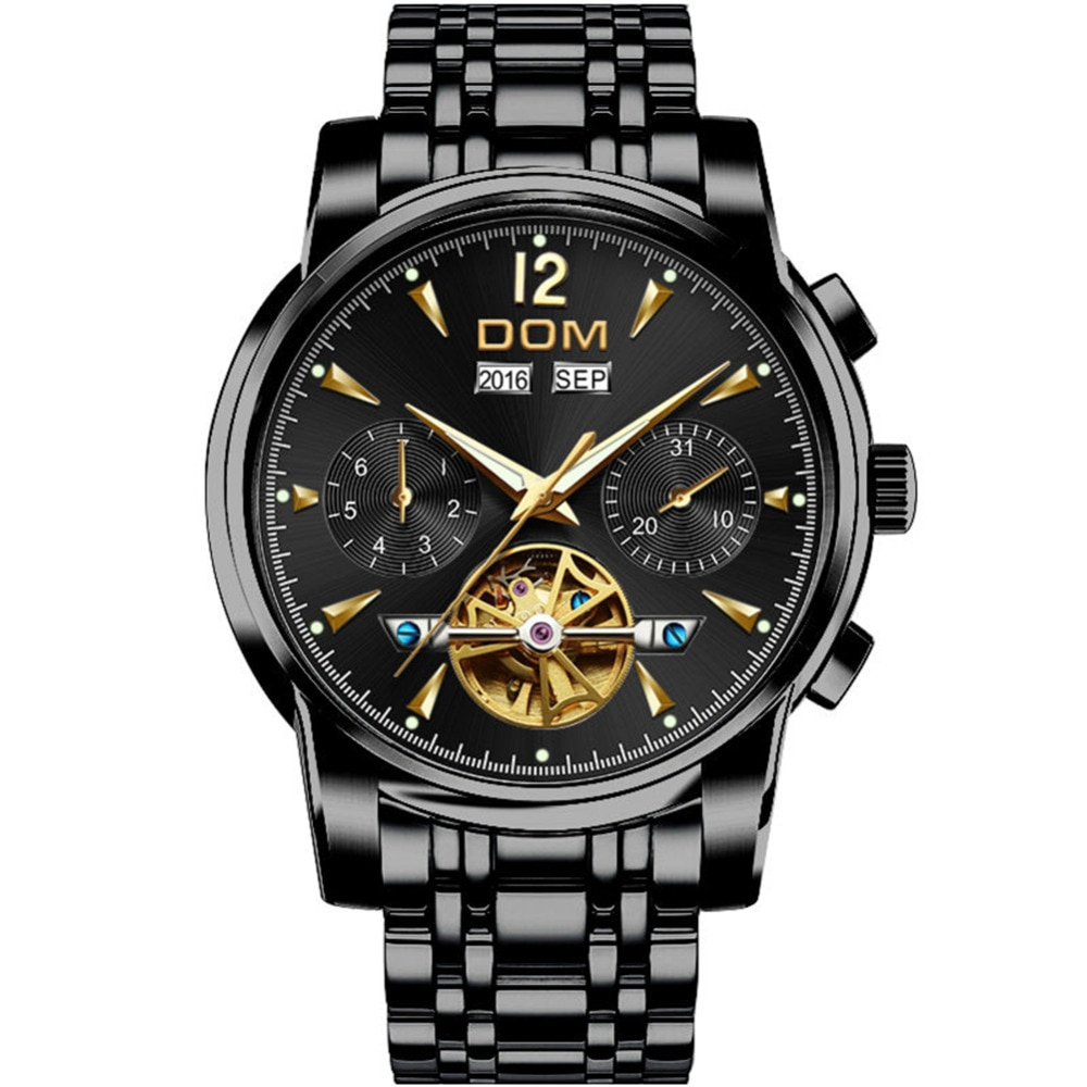 What's the Best Black Watches For Men?