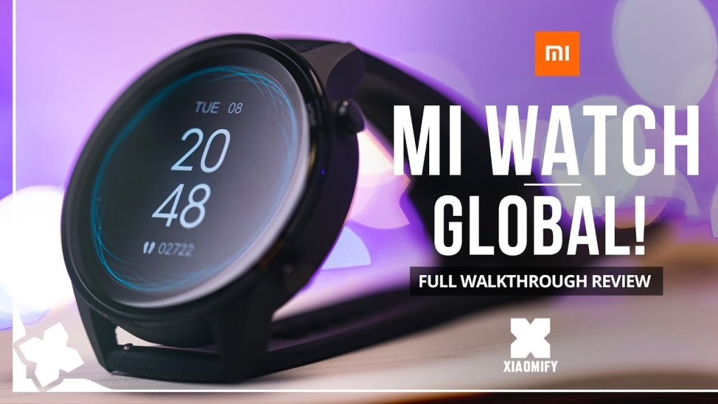 A Review Of The Xiaomi MI Watch