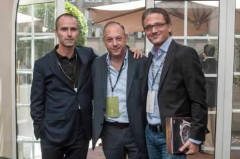 Ari Berger se dio tiempo de visitar al equipo de MB&F, firma exclusiva para Berger Joyeros (en México).