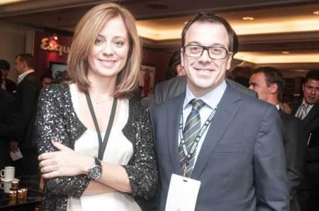 Stéphanie Martínez, Directora de Montblanc México, acompañada de Bartomeu Gomila