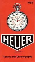 Heuer Chronographs.
