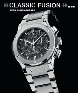 Classic Fusion Chrono Aero Titanium.