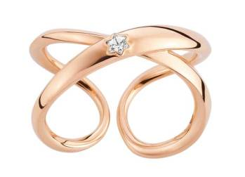 Montblanc: El sentimiento más poderoso y pasional funge de inspiración para la nueva colección de joyería de la casa: el amor que calienta el corazón, el amor que alimenta el espíritu, el amor que todo lo puede… De la línea Infiniment Vôtre, el anillo -de oro rosa- representa el compromiso eterno de la pareja gracias al detalle del diseño y a sus líneas curvas sin principio ni final. Un diamante -en solitario- discreto y elegante, resplandece bajo la forma de la emblemática estrella Montblanc. Descubre la colección completa descargando la aplicación para iPad y iPhone de Watches World... los relojes de tu vida.