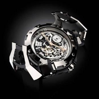 DeWitt X-Watch Funciones: horas, minutos y segundos; cronógrafo y reserva de marcha, reversible con dos carátulas Sueño de Jérôme DeWitt