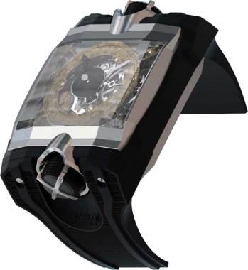 Hublot Antikythera Funciones: horas, minutos; tourbillon volante sin rodamiento de bolas y pequeño segundero, edición limitada a cuatro piezas, uno solo a subasta a favor del Museo de Atenas Sueño de Jean Claude Biver