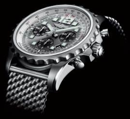 Movimiento: Calibre Breitling 23 automático (certificado COSC) Funciones: horas, minutos y segundos; cronógrafo y fechador Fabricado en acero, 46 milímetros.