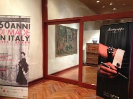 Así recibió Montegrappa a los invitados del 60 anni di made in Italy, Moda y Diseño