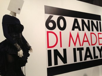 60 anni di made in Italy, Moda y Diseño