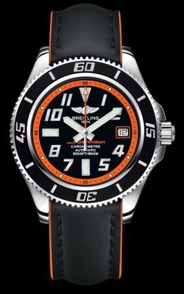 Superocean 42 / orange leather