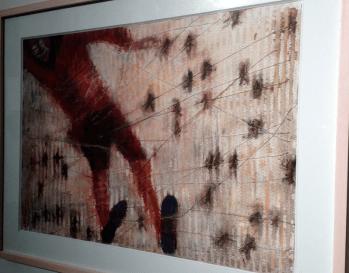 Francisco Toledo, Autorretrato rojo