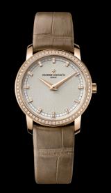 Horas y minutos, engastado con diamantes / Vacheron Constantin nueva boutique en París.