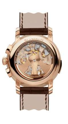 Blancpain Carrousel Répétition Minutes Chronograph Flyback Ref: 2358-3631-55B // fondo de cristal zafiro