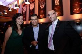 Teresa Cristo, Editorial Mapas, Marco Gutiérrez y Lionel Serra, Brand Manager de Hamilton // Presentación colección 2013.