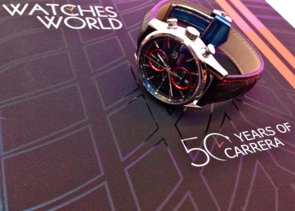 Watches World presente en la celebración #50YearsOfCarrera con acento mexicano.