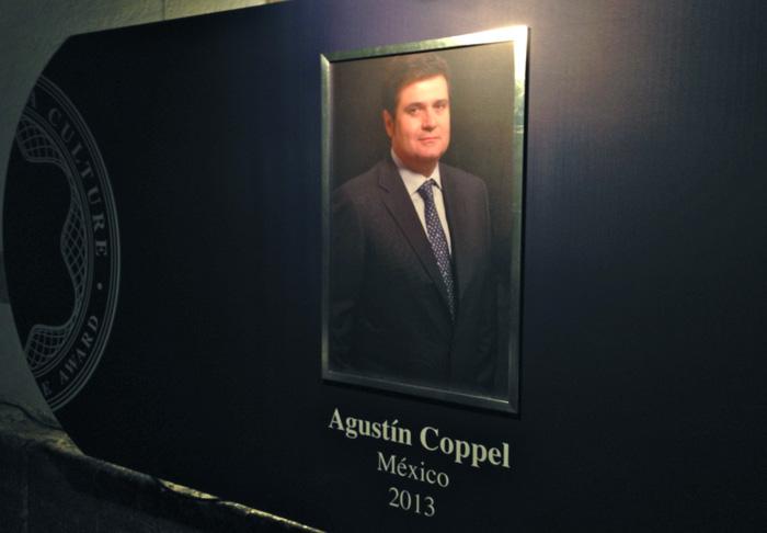 Agustín Coppel, Mecenas del Arte 2013