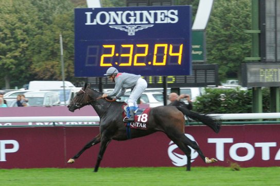 Longines Official Timekeeper of the Qatar Prix de l'Arc de Triomphe