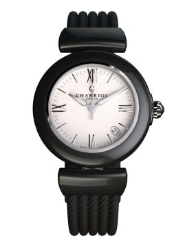 CHARRIOL Lady AEL Watch Black Ceramic.