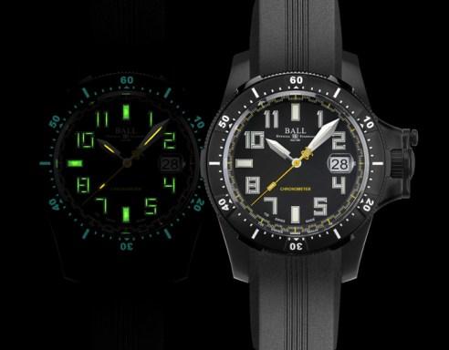 BALL Watch, Engineer Hydrocarbon Spacemaster Black