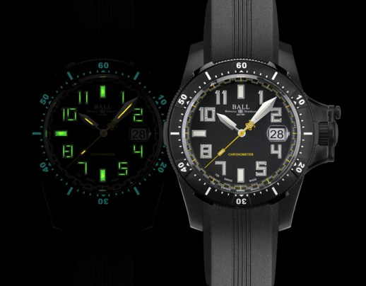 BALL Watch, Engineer Hydrocarbon Spacemaster Black