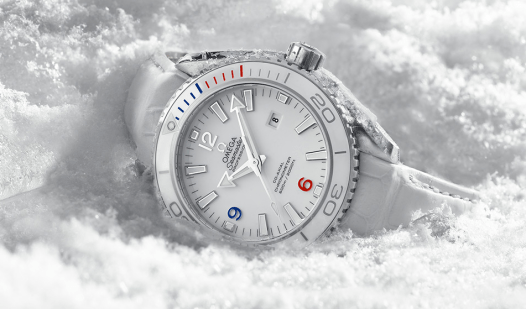 "OMEGA Seamaster Planet Ocean 37.5 mm ""Sochi 2014 "" Limited Edition."