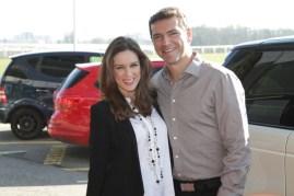 Jacqueline Bracamontes visitó en compañía de su esposo Martín Fuentes, las instalaciones de Hublot en Suiza.