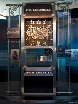 El reloj monumental que Richard Mille desarrolló como homenaje a la ciudad de Quebec.