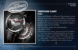 Christophe Claret Poker.