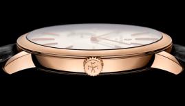 Vacheron Constantin Patrimony Contemporaine Ultra Thin 1731– reloj más plano con repetición de minutos de carga mecánica manual: 8.09 mm y 3.9 mm para el movimiento.