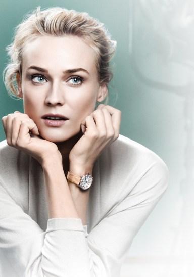 Diane Kruger, siente debilidad por Rendez-Vous de Jaeger-LeCoultre