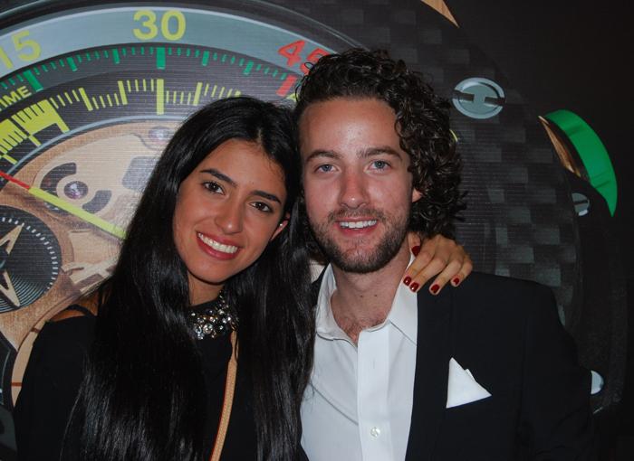 Ruth Cherem y Alex Berger