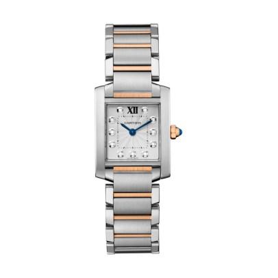 Tank Francaise steel watch medium model2