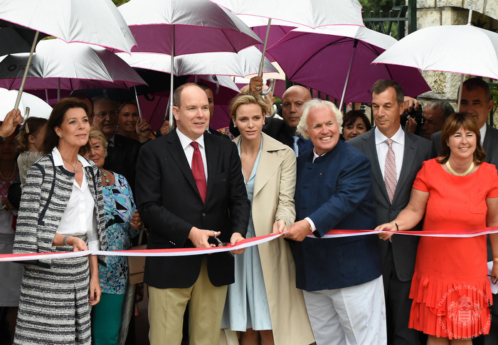 Reopening of the garden Princess Grace thanks to Piaget