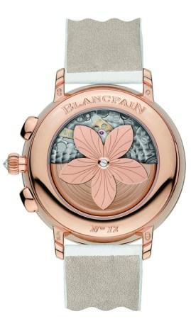 Blancpain, collection Women Chronographe Grande Date.