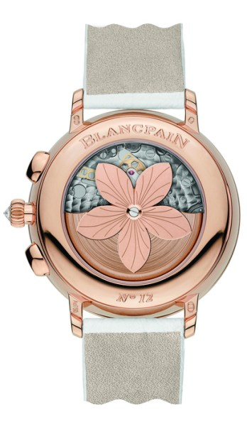 Blancpain, collection Women Chronographe Grande Date.