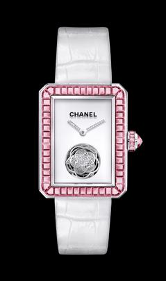 Chanel Premiere tourbillon zafiros rosas.
