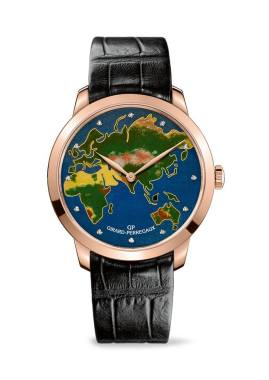 "GIRARD-PERREGAUX ""The Map & The World"""