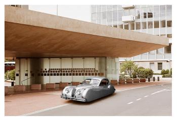 "JAGUAR XK120 by Renaud Marion collection ""Air Drive""."