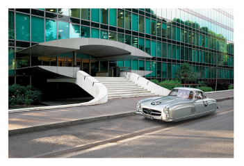 """MERCEDES 300SL by Renaud Marion collection """"Air Drive""""."""