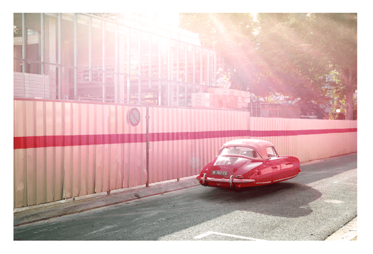 """PORSCHE 356 by Renaud Marion collection """"Air Drive""""."""